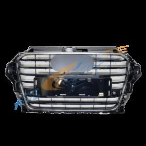 Audi A3 2012-2016 Grille S-Line Black Chrome