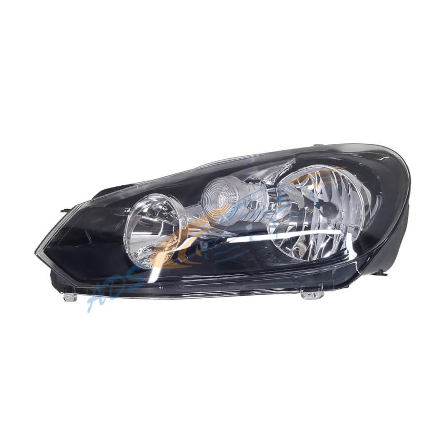 Golf 6 Headlight Left Side Hela