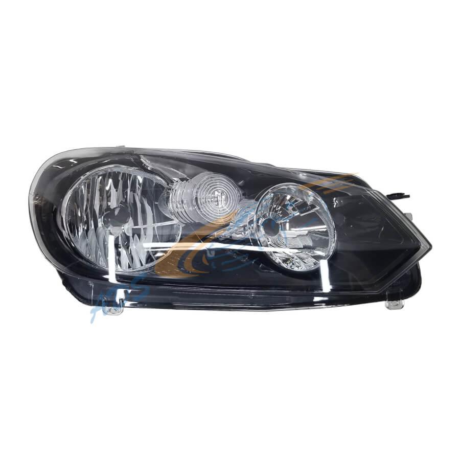 Golf 6 Headlight Right Side Hela