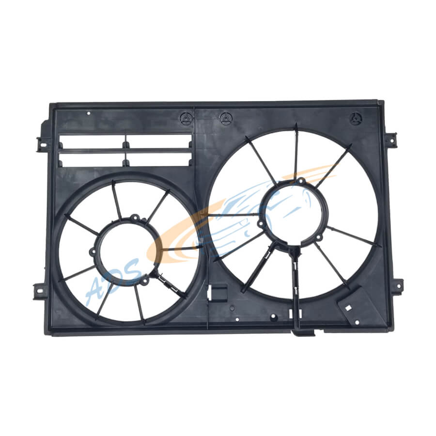 VW Golf 6 Engine Cooling Radiator Fan Shroud 2