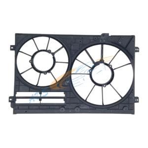 VW Golf 6 Engine Cooling Radiator Fan Shroud