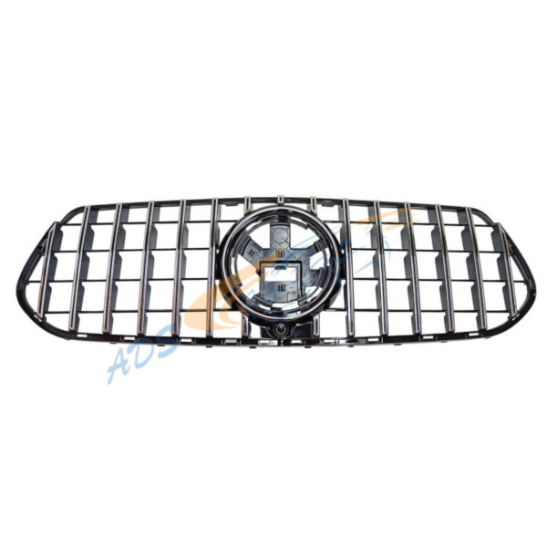 Mercedes Benz W167 GLE 2019 - On GT Panamericana Grille Black Chrome