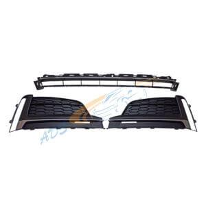 Bumper Grille S Line SET Audi A5 2016 - 2019 8W6807681F, 8W6807682F, 8W6807683ARU6