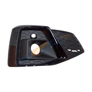 Audi A5 2020 - S Line Black Fog Lamp Grille Right Side